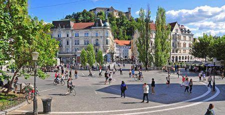 Business in Ljubljana, Slovenia