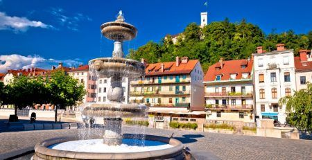 Regulated business activities of a company in Slovenia