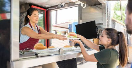 Food stands in Slovenia - business of temporary catering facilities