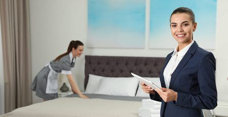 What business activities fall under the hospitality sector?