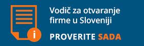 Kratak vodič za otvaranje firme u Sloveniji
