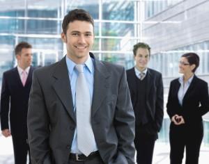 Moški poslovni izgled
