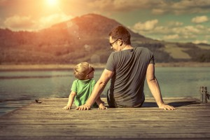 plačani očetovski dopust