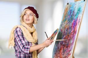 Art Painting Artist Women Creativity Painter Hobbies
