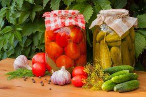 vlaganje zelenjave