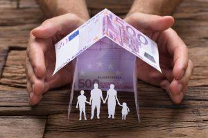 vzdrževani družinski člani