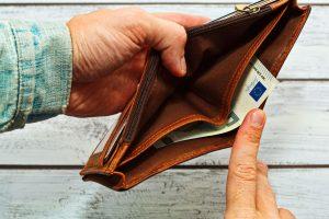 dvig denarne socialne pomoči