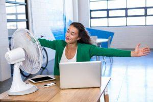 Temperatura na delovnem mestu