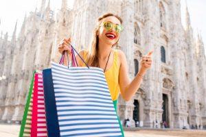 nakupovanje v italiji