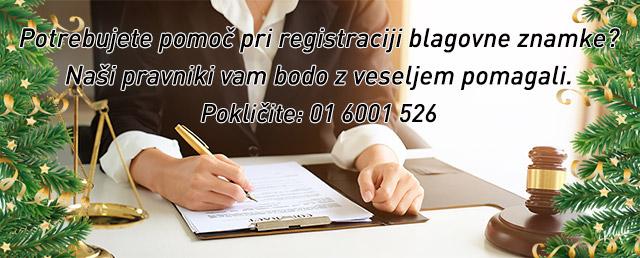Pomoč pri registraciji blagovne znamke