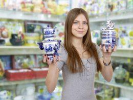 Trgovina s porcelanom in keramiko - kaj potrebujete?