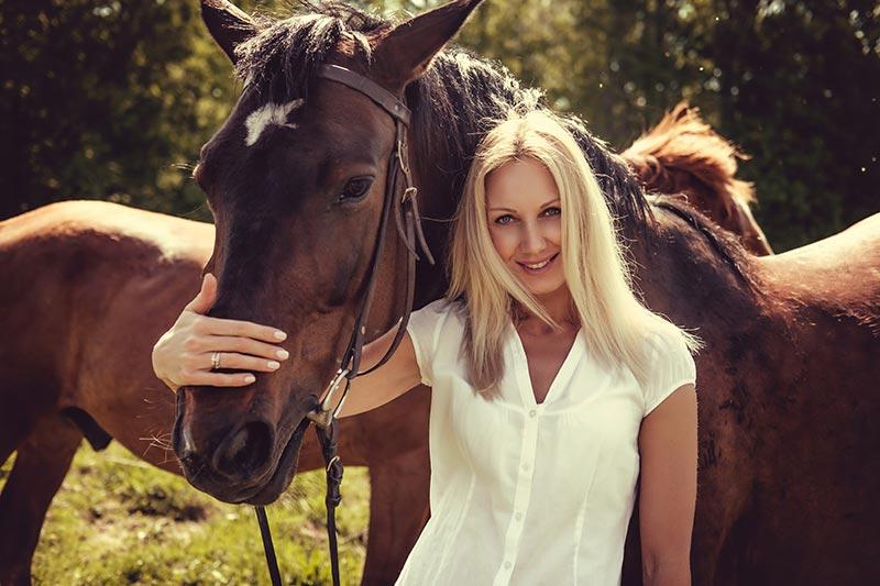 Gojenje konj dejavnost