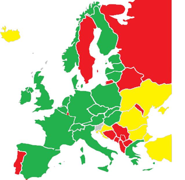evropa epidemiološka slika